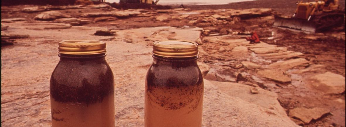 Crude Oil and Gas Spill 1972 by David Hiser